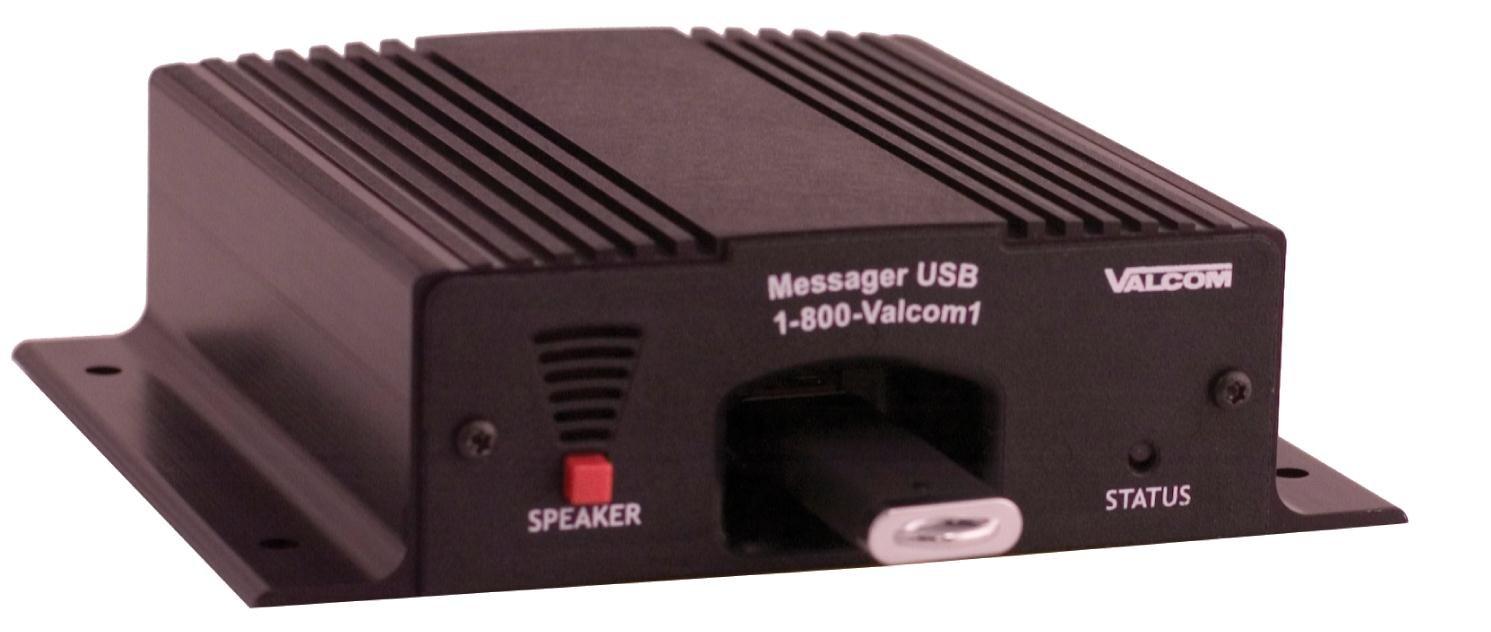 VALCOM VC-V-9988 Messenger USB Digital Messaging