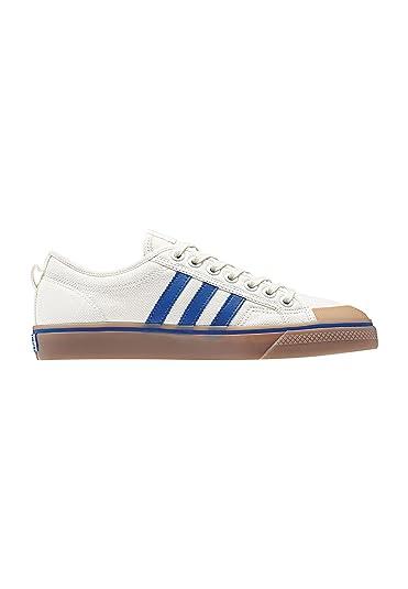adidas Originals Nizza Shoes 43.5 EU Off White/Blue/Off White Chaussures Richter noires garçon 8Q771Xwp