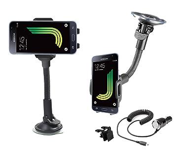 Soporte de coche giratorio 360 Samsung Galaxy J5 (2016) sm ...