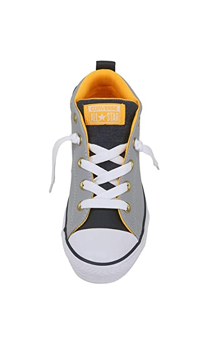 b0d304b6e76dd Converse Kid's Shoes Chuck Taylor All Star Street Mid Gray Fashion Skate  Sneakers
