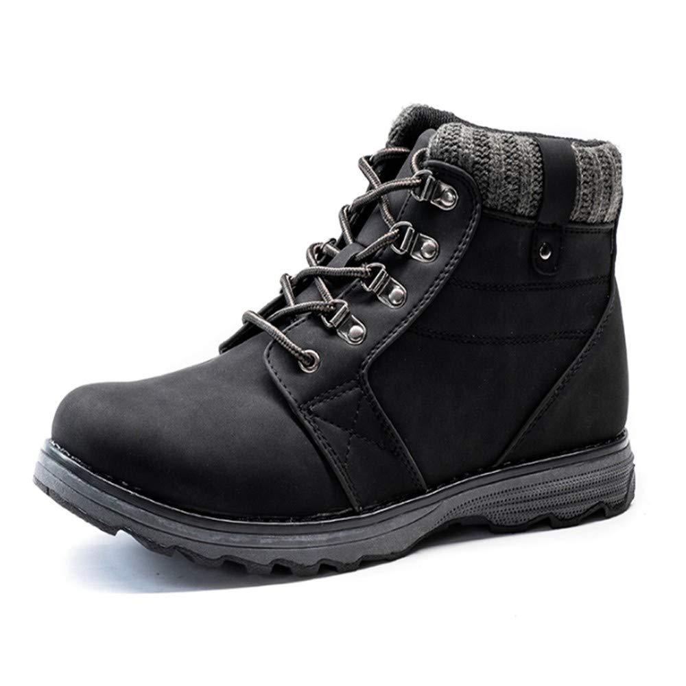 FMWLST Stiefel Pu-Stiefel Männer Bequeme Schuhe Der Männer Beschuht Kurze Stiefel Der Herbst- Und Wintermänner