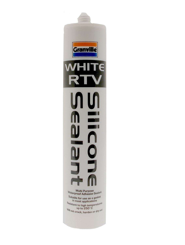 Granville 0240 Pâte à joint en silicone RTV 310 ml (Blanc) 0240A