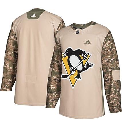 more photos 74f15 93c20 Amazon.com : adidas Pittsburgh Penguins NHL Veterans Day ...