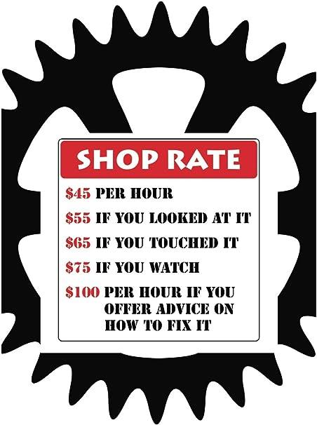 Amazon.com: Tasa de tienda precios de dólar Funny Póster ...