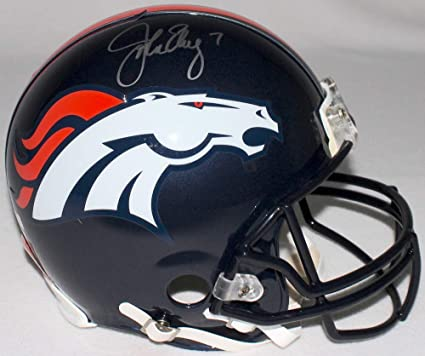 Peyton Manning Denver Broncos Signed Autograph Authentic On Field Proline Speed Helmet Steiner Sports Certified
