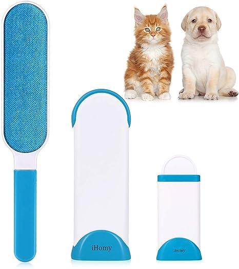 Ihomy _ cepillo antipelos para Animal doméstico – Cepillo de limpieza, mágico, reutilizable,