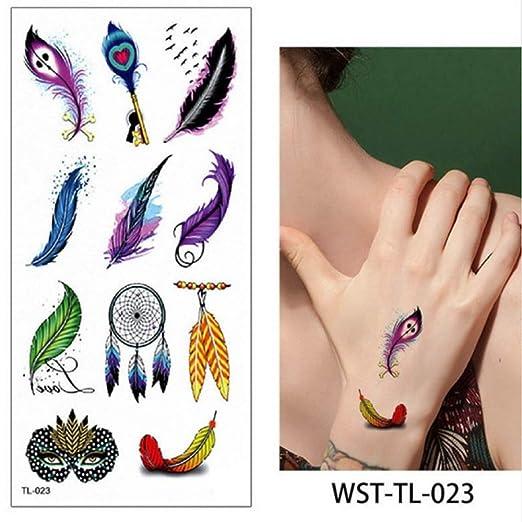 adgkitb 4 Piezas Scorpion Tatuajes temporales Chicas Cuerpo ...