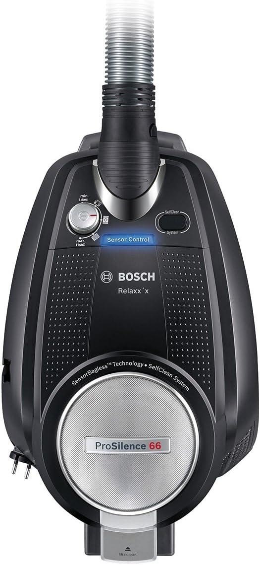 Bosch BGS5RCL aspirapolvere 700 W A cilindro Senza sacchetto 3 L Nero/ Argento
