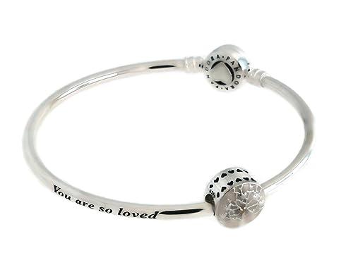 e634ec647 PANDORA Tree of Hearts, Mother's Day LE Bangle Gift Set B800516-21 cm 8.3  in: Amazon.ca: Jewelry
