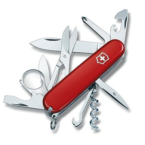 Victorinox 1.6703 Explorer - Navaja suiza, color rojo ...