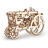 Tractor Model - Unique Glue Free Eco Friendly Wooden Mechanical Self Assembly Moving Kit Ugears Rubberpunk …