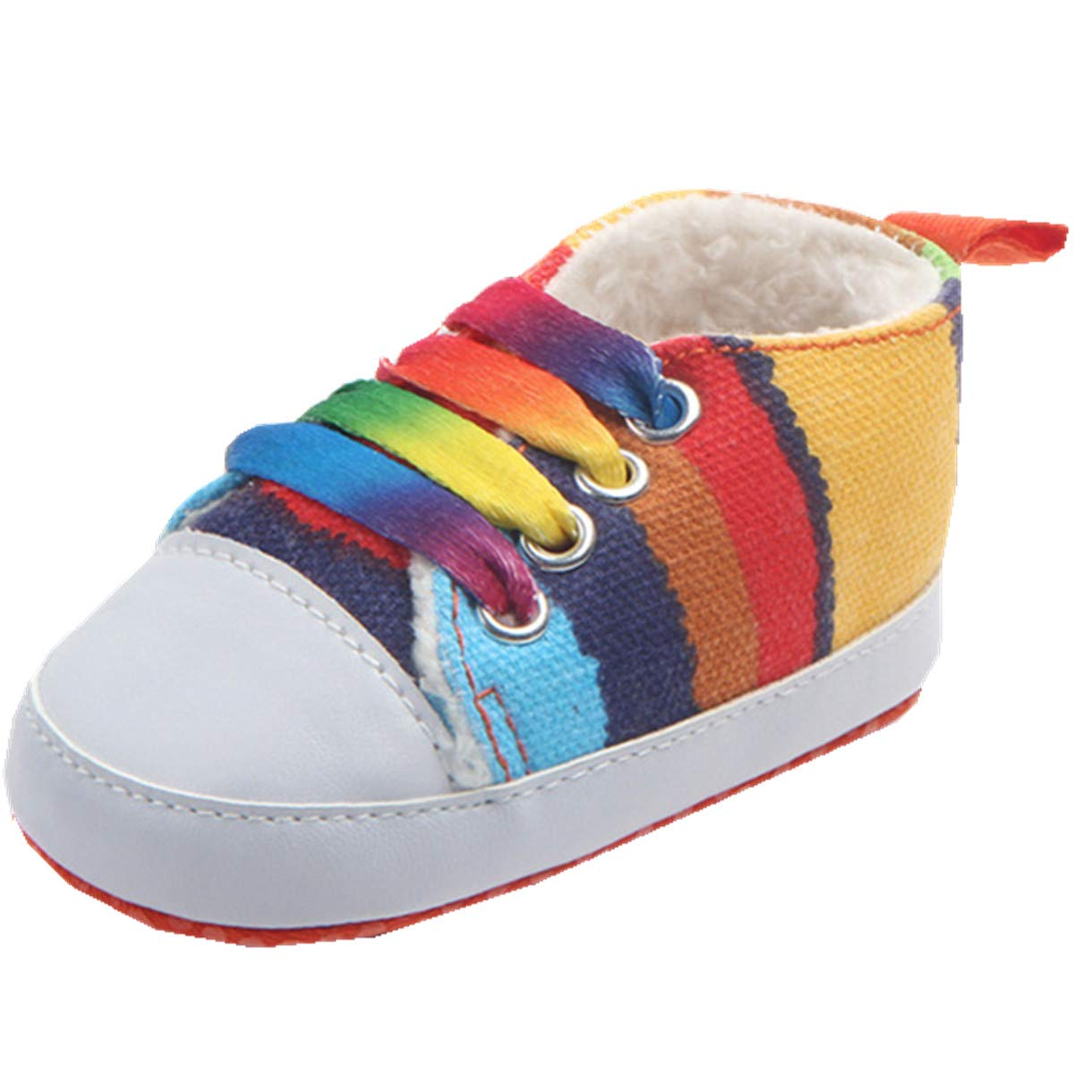 ADIASEN 1pc Winter Wool Warm Baby Unisex Shoes,Cute Baby Girl Snow Boots Shoes,Baby Boys Boots Shoes