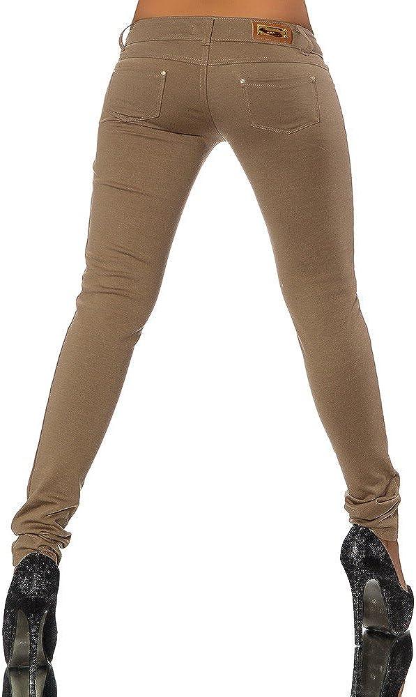 G701 Damen Jeans Look Hose R/öhre Leggings Leggins Treggings Skinny Jeggings