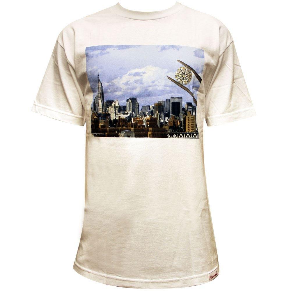 Diamond Supply Co NY Diamond T-Shirt White