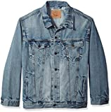 Levi's Men's Big and Tall Trucker Jacket, Spire, 2XL