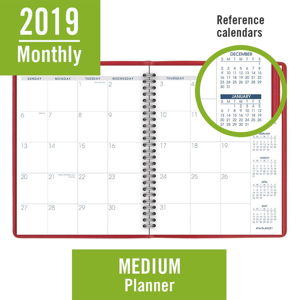AT-A-GLANCE 2019 Monthly Planner, 7