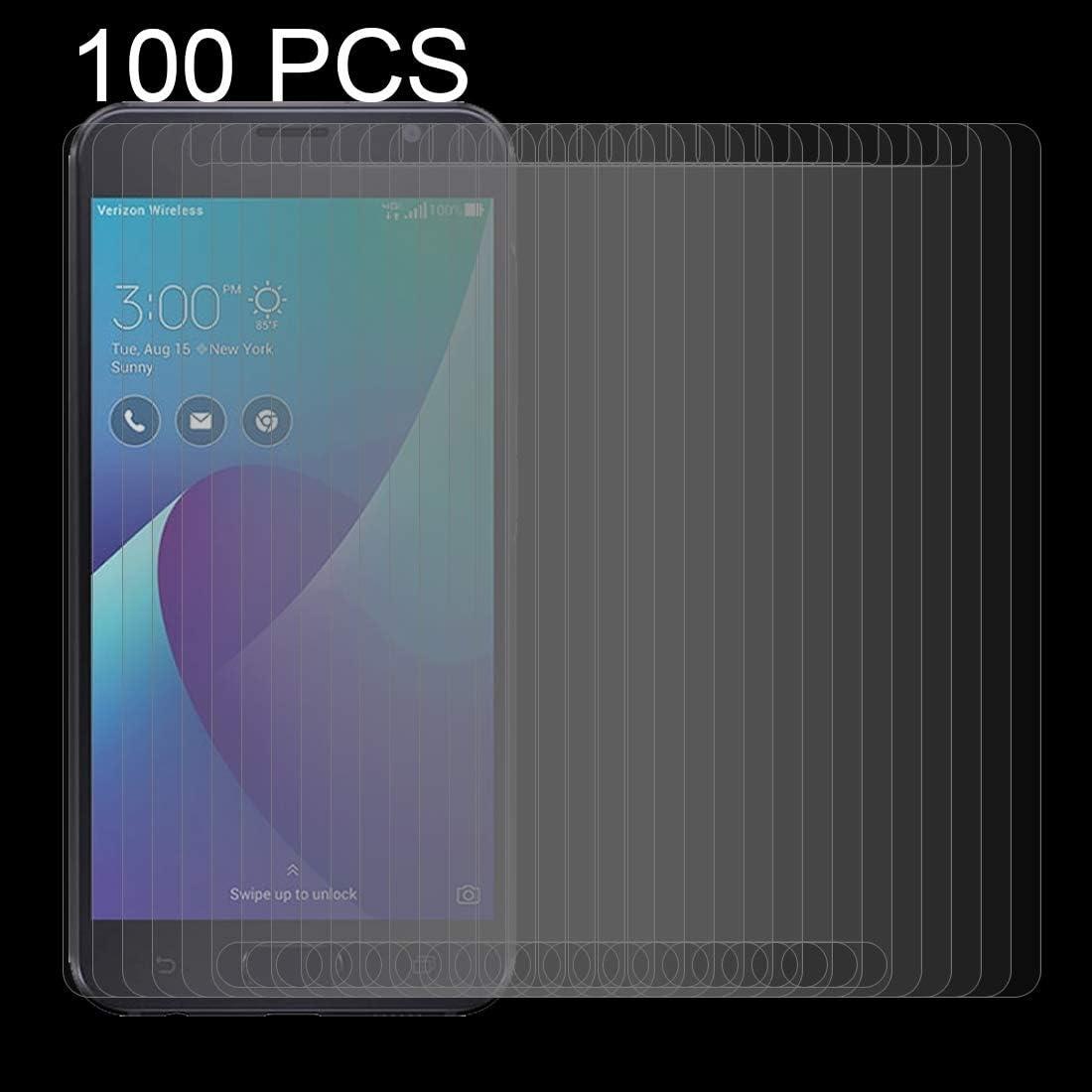 ZENGMING Tempered Glass Film Screen Protector XINGHCEN 100 PCS for Asus ZenFone V V520KL 0.26mm 9H Surface Hardness 2.5D Curved Edge Tempered Glass Screen Protector Anti-Scratch
