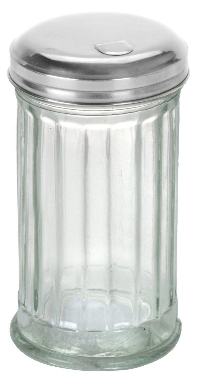 Anchor Hocking Flip Cap Glass Sugar Dispenser 12 Ounce