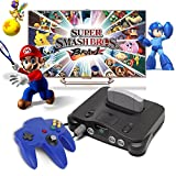 YKS Game Controller Joystick for Nintendo 64 N64 System Deep Blue Pad Mario Kart
