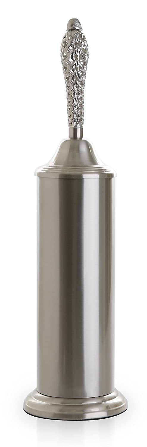 BINO Bloomfield Toilet Brush /& Holder with Removable Drip Cup Brushed Nickel 24034-NIK