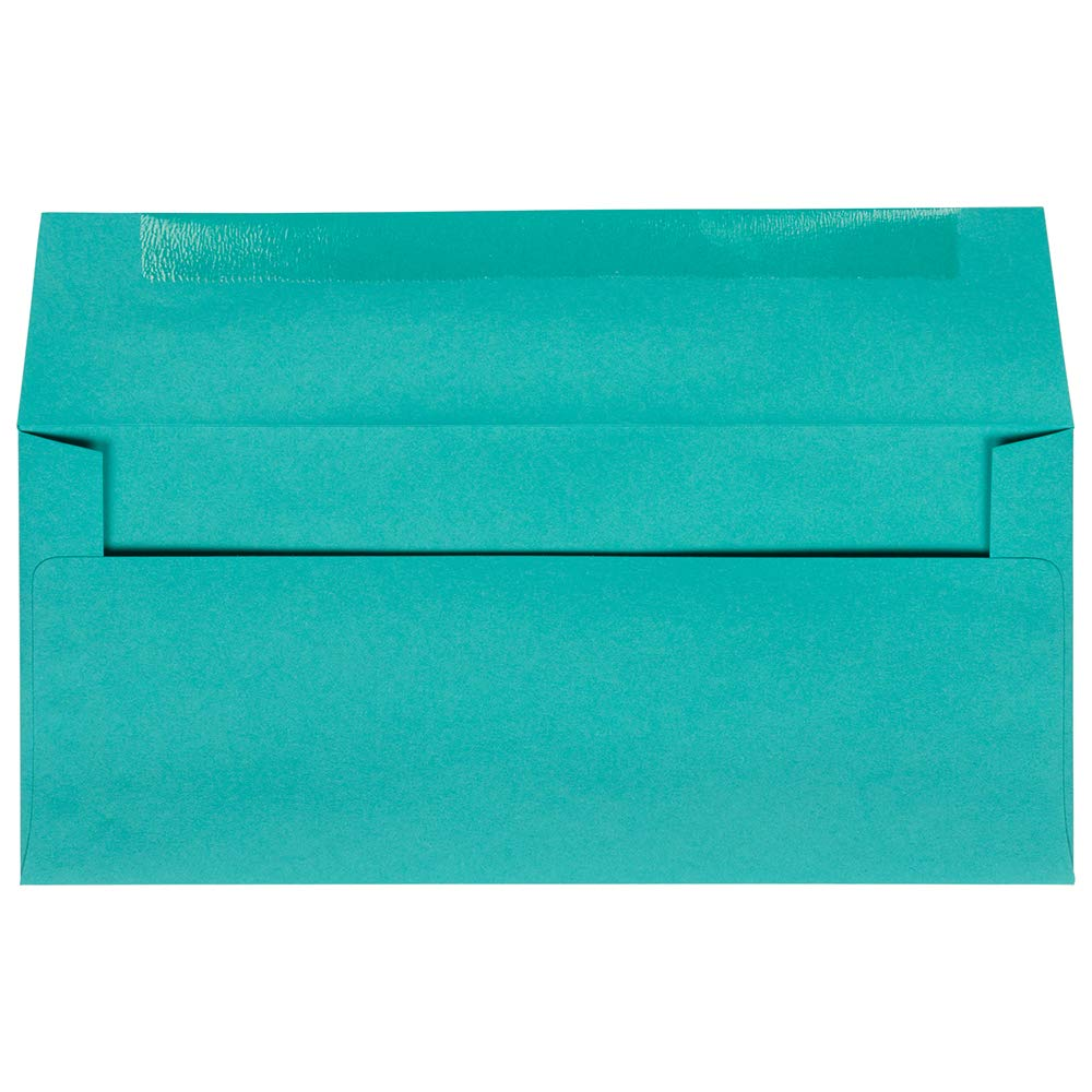 104,8 x 241,3 mm JAM PAPER #10 Lettere per Business 50//Confezione Blu Mare Riciclato