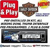 Plug -And -Play Harley Touring 1998-2013 Jvc Marine Radio...