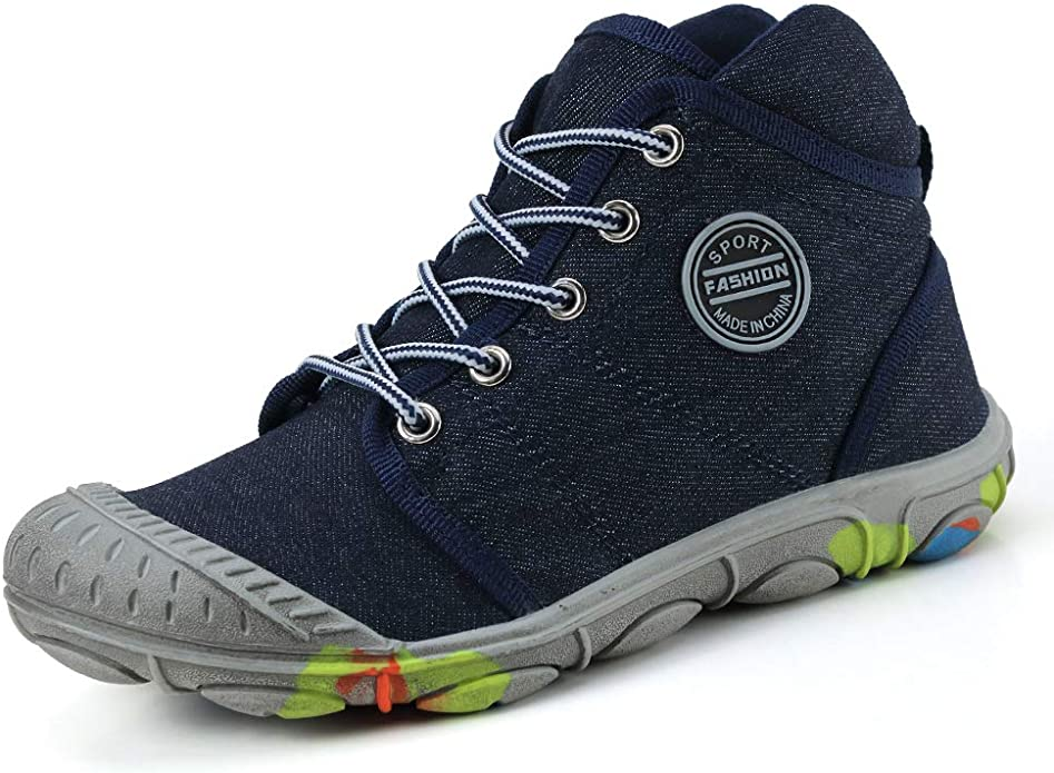 XIANV Zapatillas de Deporte para Niños Baloncesto Moda Correr Calzado Deportivo Zapatos para Correr Zapatos De Vaquero Al Aire Libre: Amazon.es: Zapatos y complementos