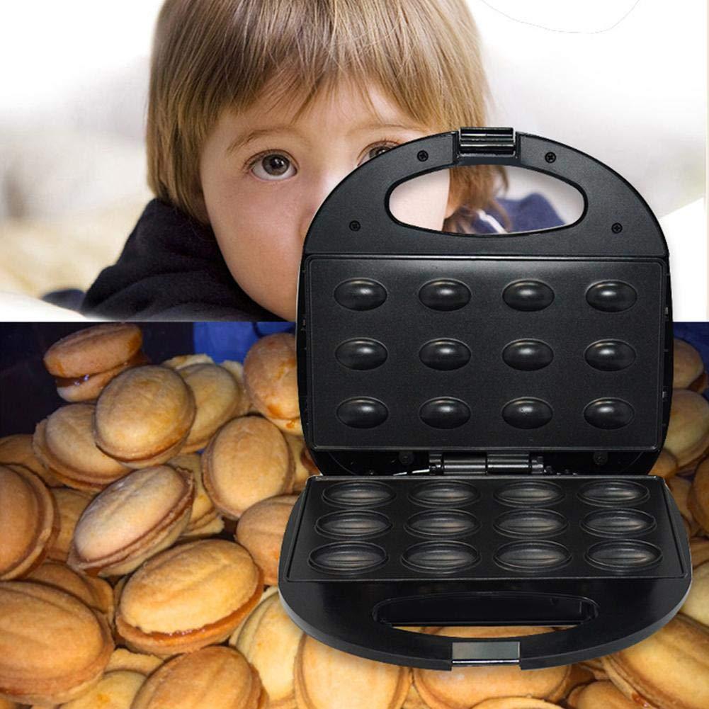 Chalkalon Parrilla El/éctrica M/áquina para Hornear Tostadora Hogar Moda Tuerca Flotante Plancha De Cocina Acero Inoxidable Refrigerador De Sart/én para El Desayuno Advantage