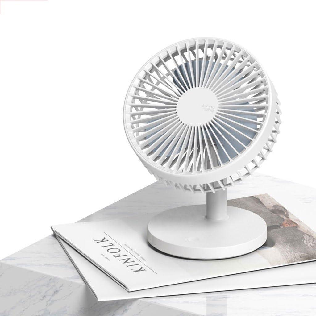 Quiet Office Desktop Home Student Dorm Bed Outdoor Travel Mini Fan Desk Table Fans Portable Cooling Fans Wind Desktop Mini USB Rechargeable Fan