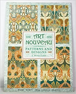 Art Nouveau Patterns and Designs (oversized edition) R
