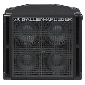Amazon.com: Gallien-Krueger 410RBH/8 Bass Guitar Cabinet (800 Watt ...