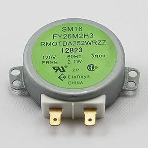RMOTDA252WRZZ Microwave Turntable Motor Replacement for Sharp Replaces RMOTDA264WRZZ SM16 FY26M2H3 by AUKO