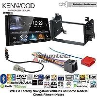 Volunteer Audio Kenwood DDX9904S Double Din Radio Install Kit with Apple CarPlay Android Auto Bluetooth Fits 2008-2014 Kia Sedona, 2009-2010 Kia Optima