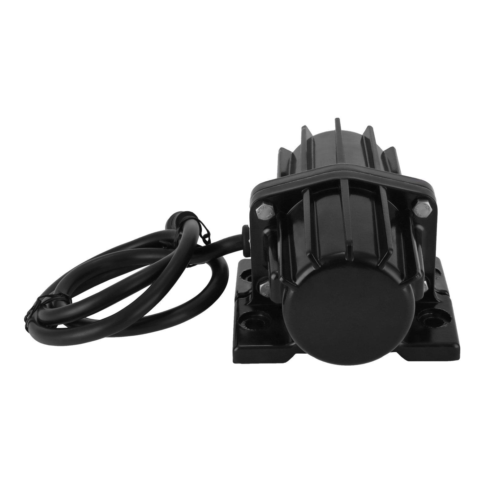SucceBuy Salt And Sand Vibrator Motor 80LB Vibrator Motor Spreader Snow 12V DC
