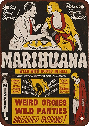 1936 Marijuana Weed With Roots in Hell 10