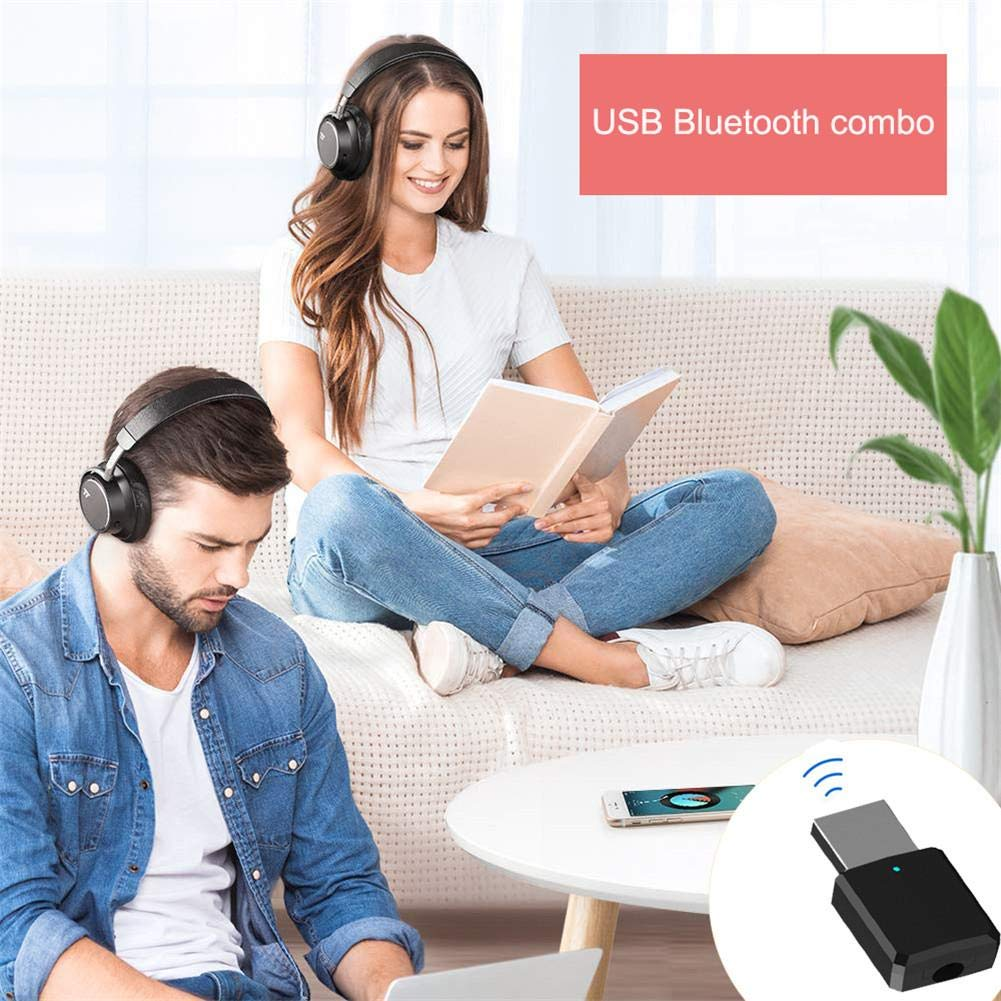 Sommers Laden USB Wireless 5.0-Senderempf/änger 2-in-1-AUX-Audio-Adapter