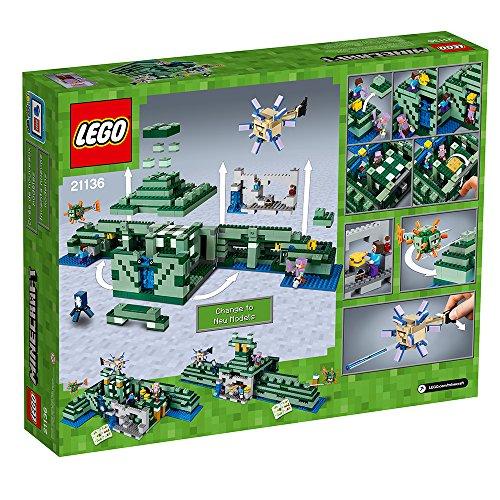 LEGO Minecraft the Ocean Monument 21136 Building Kit (1122 Piece ...