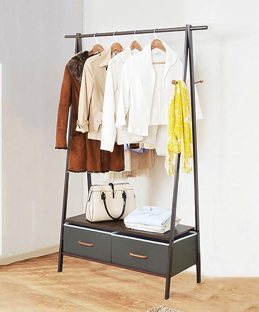 Amazon.com: KKCF Floor Standing Coat Hat Rack Iron with ...