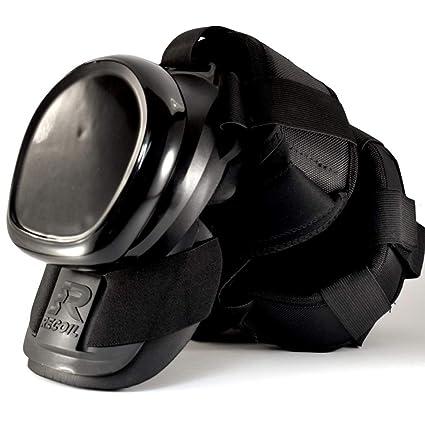 Recoil Kneepads Pro for Work - Rodilleras Profesionales con Resorte para construcción, alicates, Suelos