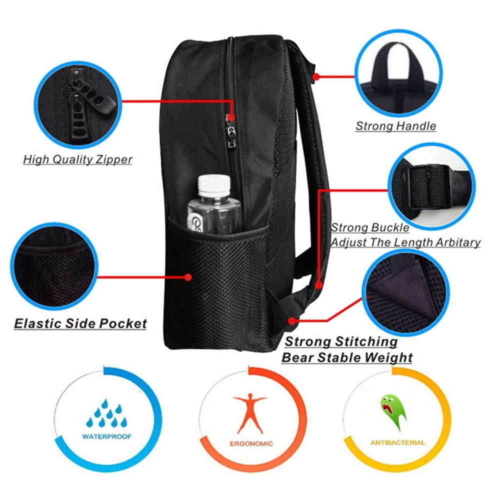 Educational Multifunction School Bag,Series and Parallel Circuits Voltage Electric Science Equipment Print For school,One_Size by YOLIYANA (Image #2)