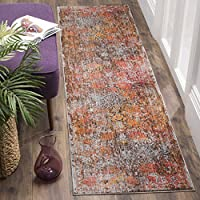 Safavieh Vintage Persian Collection VTP409D Traditional Oriental Brown and Multi Runner (22 x 12)
