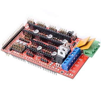 Redrex Impresora 3D Tablero de Regulador de Ramps1.4 de Reprap Prusa Mendal Arduino Mega2560