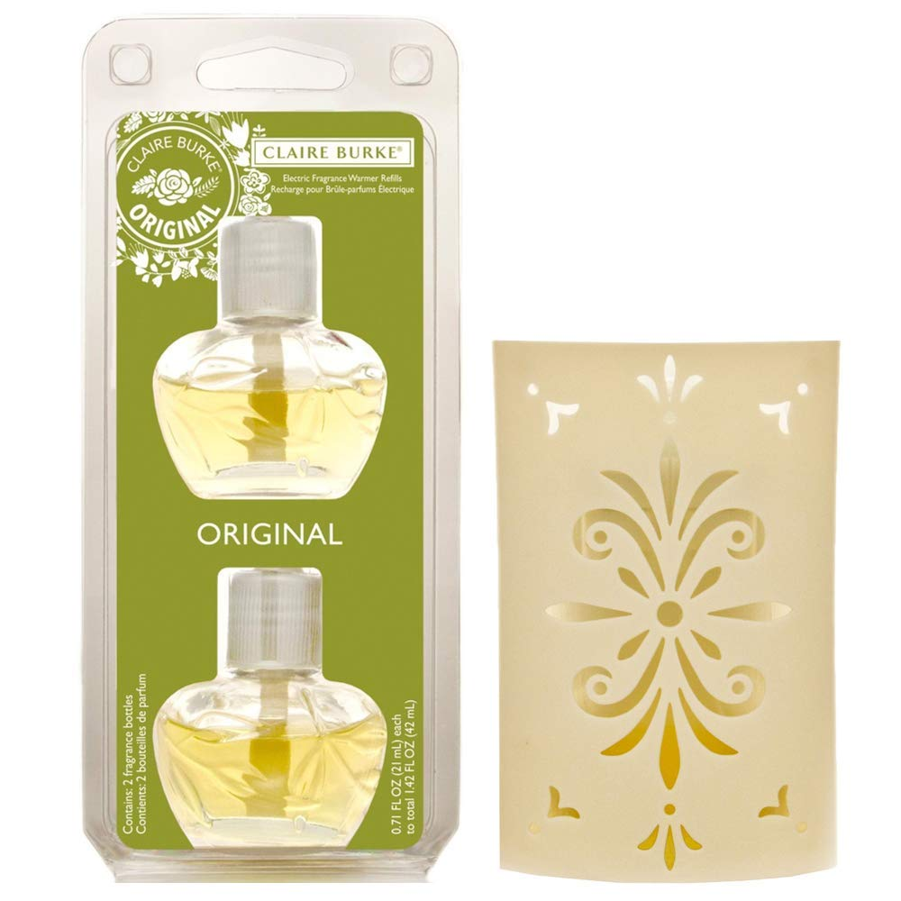 Claire Burke Original Electric Fragrance Warmer Unit and Refill Bundle