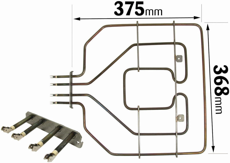 Compatible Avec BOSCH NEFF 2800 W Four Chauffage Grill Cuisinière élément 471375