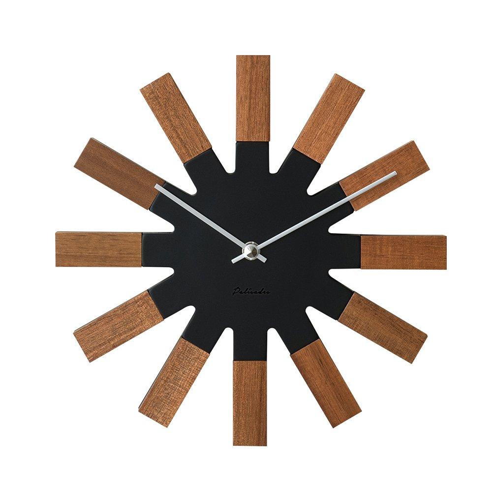 掛け時計 Strahlen シュトラーレン ブラウン インターフォルム CL-2934BN CL-2934BN B07786CQLH ブラウン|シュトラーレン ブラウン