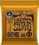 "Ernie Ball 3222 ""09-46 Hybrid"" Nickel Wound Electric Guitar Strings (Pack of 3)"
