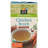 365 Everyday Value, Organic Low Sodium Chicken Broth , 32 fl oz