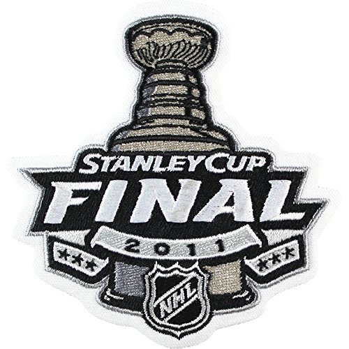 (2011 NHL Stanley Cup Final Logo Jersey Patch Boston Bruins vs. Vancouver Canucks)