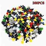 30 Kinds of Mixed Plastic Automotive Bumper Fastener Rivet Clips Nylon Car Trim Fastener Clips Push Type For TOYOTA Nissan All the Cars