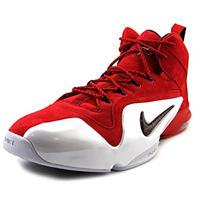 639c625186 NIKE SPORTSWEAR MENS ZOOM PENNY VI RED SUEDE SNEAKER Red - Footwear/Sneakers  10.5